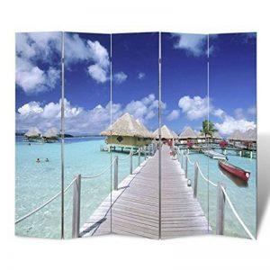 vidaXL Paravent 200 x 180 mer de la marque vidaXL image 0 produit