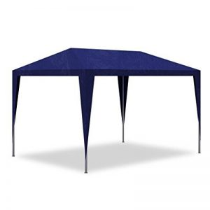 vidaXL Tonnelle de jardin Pavillon Tente de réception Chapiteau Bleu 3x3m de la marque vidaXL image 0 produit