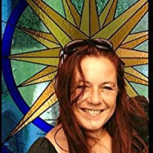 Vitrail papillon, chasseur de soleil de la marque WaenzinnigGlas image 0 produit