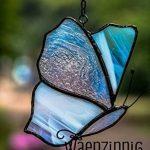 Vitrail papillon, chasseur de soleil de la marque WaenzinnigGlas image 1 produit