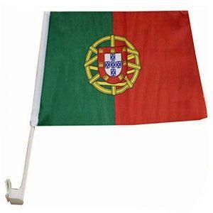 Voiture Drapeau Article de Fan Drapeau de voiture différents Pays Portugal 30 x 50 cm de la marque easy4fashion image 0 produit