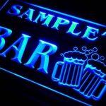 w019528-b DRAPEAU'S Nom Accueil Bar Pub Beer Mugs Cheers Neon Sign Biere Enseigne Lumineuse de la marque AdvPro Name image 1 produit