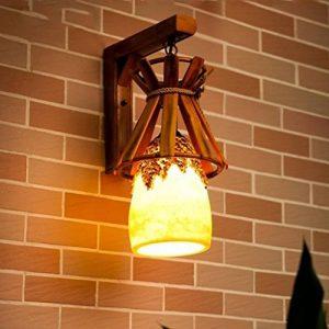 Wall Lamp, lampe murale Jardin Terrasse Bar Bar Café Canal lumière résine lampe Bambou Lampe créative Nouvelle de la marque EQEQ image 0 produit