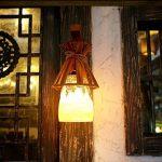 Wall Lamp, lampe murale Jardin Terrasse Bar Bar Café Canal lumière résine lampe Bambou Lampe créative Nouvelle de la marque EQEQ image 1 produit