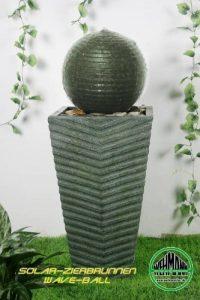Wehmann Wave Fontaine solaire pour jardin ou terrasse Fonctionne le jour comme la nuit de la marque Wehmann image 0 produit
