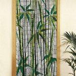 Wenko 819113500 Rideau de Bambou Multicolore 50 x 16 x 15 cm de la marque Wenko image 1 produit