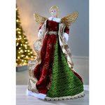 WeRChristmas Grande taille 44 cm Angel décoration de sapin de Noël Rouge de la marque WeRChristmas image 1 produit