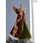 WeRChristmas Grande taille 44 cm Angel décoration de sapin de Noël Rouge de la marque WeRChristmas image 2 produit