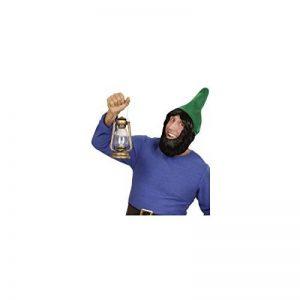 Widmann 00825Nain de jardin Chapeau avec perruque et barbe, pour adulte de la marque Widmann image 0 produit