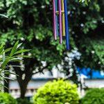 Wind Chimes 5creux Multicolore tubes aluminium Bois Grand carillon pour terrasse, jardin, extérieur et décoration intérieure Salon Jour de Noël de la marque Haliseng image 3 produit