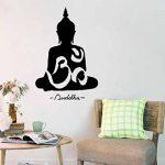 WINOMO Sticker mural Bouddha décor autocollant sticker Decal 50 * 75cm de la marque WINOMO image 1 produit