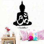 WINOMO Sticker mural Bouddha décor autocollant sticker Decal 50 * 75cm de la marque WINOMO image 2 produit