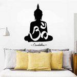 WINOMO Sticker mural Bouddha décor autocollant sticker Decal 50 * 75cm de la marque WINOMO image 3 produit