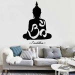 WINOMO Sticker mural Bouddha décor autocollant sticker Decal 50 * 75cm de la marque WINOMO image 4 produit