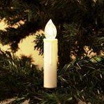 Witss Guirlande Lumineuse de Noël 40 Bougies Blanches LED Blanc Chaud à Pince pour Sapin par Lights4fun de la marque Witss image 3 produit