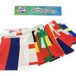 World of Bunting Coupe du monde de football fanions Russie 2018Football Bannière drapeaux Tissu 10m avec tous les 32équipes de la marque World of Bunting image 4 produit