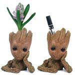 Yacool fleur plante pot, personnalisé bébé fleur Pots intérieur extérieur figurines modèle jouet meilleur cadeau pour les enfants - 1pc de la marque Yacool image 2 produit