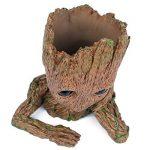 Yacool fleur plante pot, personnalisé bébé fleur Pots intérieur extérieur figurines modèle jouet meilleur cadeau pour les enfants - 1pc de la marque Yacool image 4 produit