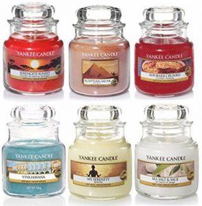 Yankee Candle Classic Selection coffret de 6 bougies parfumées enpetits pots de la marque My Planet Yankee Candle image 0 produit