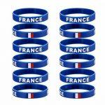 YDT 2018 FIFA WORLD CUP Bracelet Sports Silicone Drapeau National Bracelets pour les Fans de Football (12-Pack) de la marque YDT image 2 produit