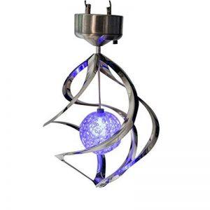 Zantec lampe LED d'extérieur à suspendre Carillon à vent léger pour Home Garden à énergie solaire Lampes d'éclairage Décoration de la marque Zantec image 0 produit