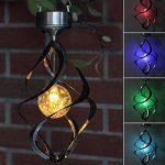 Zantec lampe LED d'extérieur à suspendre Carillon à vent léger pour Home Garden à énergie solaire Lampes d'éclairage Décoration de la marque Zantec image 2 produit