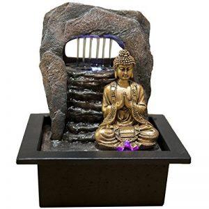 Zen'Light Bouddha Zen Dao Fontaine, Résine, Bronze, 21 x 17 x 25 cm de la marque Zen Light image 0 produit