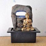 Zen'Light Bouddha Zen Dao Fontaine, Résine, Bronze, 21 x 17 x 25 cm de la marque Zen Light image 1 produit
