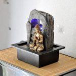 Zen'Light Bouddha Zen Dao Fontaine, Résine, Bronze, 21 x 17 x 25 cm de la marque Zen Light image 2 produit