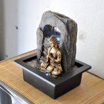 Zen'Light Bouddha Zen Dao Fontaine, Résine, Bronze, 21 x 17 x 25 cm de la marque Zen Light image 3 produit