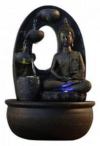 Zen Light HARMONIE Fontaine Polyrésine Noir 26 x 16 x 40 cm de la marque Zen Light image 0 produit