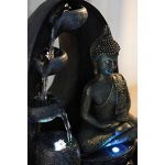 Zen Light HARMONIE Fontaine Polyrésine Noir 26 x 16 x 40 cm de la marque Zen Light image 1 produit