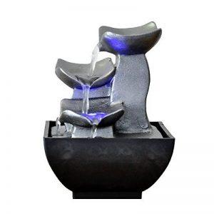 Zen Light Nature Boro Fontaine, Résine, Argent, 13 x 13 x 17 cm de la marque Zen Light image 0 produit