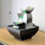 Zen Light Nature Boro Fontaine, Résine, Argent, 13 x 13 x 17 cm de la marque Zen Light image 1 produit