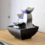 Zen Light Nature Boro Fontaine, Résine, Argent, 13 x 13 x 17 cm de la marque Zen Light image 3 produit