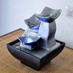 Zen Light Nature Boro Fontaine, Résine, Argent, 13 x 13 x 17 cm de la marque Zen Light image 4 produit