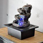 Zen'Light Nature Galou Fontaine, Résine, Gris, 21 x 17 x 23 cm de la marque Zen Light image 1 produit