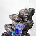 Zen'Light Nature Galou Fontaine, Résine, Gris, 21 x 17 x 23 cm de la marque Zen Light image 4 produit