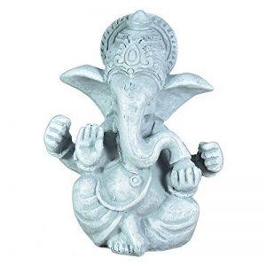 Zen Light SBG Figurine Ganesh Gris Pierre 8 x 6 x 12 cm de la marque Zen Light image 0 produit