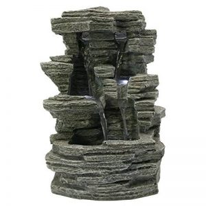 Zen Light SCFR150 Grand Canyon Fontaine Nature Gris Pierre 19 x 16 x 28 cm de la marque Zen Light image 0 produit
