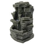 Zen Light SCFR150 Grand Canyon Fontaine Nature Gris Pierre 19 x 16 x 28 cm de la marque Zen Light image 1 produit