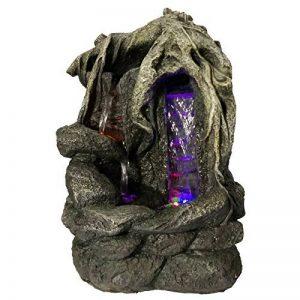 Zen Light SCFR156 Fantasy Fontaine Nature Marron Pierre/Bois 27 x 19 x 36 cm de la marque Zen Light image 0 produit