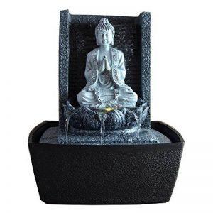 Zen Light SCFRB1 Fontaine d'Intérieur Mur Bouddha Prière Gris Foncé/Noir 20 x 15 x 26 cm de la marque Zen Light image 0 produit