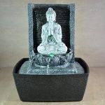 Zen Light SCFRB1 Fontaine d'Intérieur Mur Bouddha Prière Gris Foncé/Noir 20 x 15 x 26 cm de la marque Zen Light image 2 produit