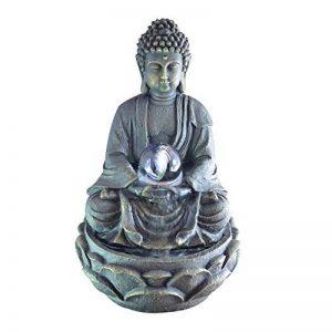 Zen Light SCFRB8G Bouddha Médiation Grand Fontaine d'Intérieur Marron Foncé/Chocolat 21 x 21 x 30 cm de la marque Zen Light image 0 produit