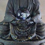 Zen Light SCFRB8G Bouddha Médiation Grand Fontaine d'Intérieur Marron Foncé/Chocolat 21 x 21 x 30 cm de la marque Zen Light image 3 produit