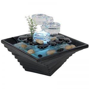 Zen Light SCFV16 Himalaya Fontaine d'Intérieur Noir 23 x 23 x 20 cm de la marque Zen Light image 0 produit