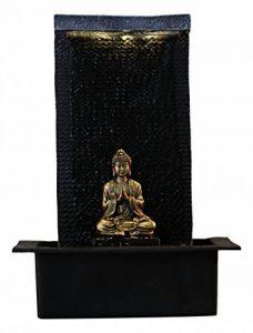 Zen Light ZENITUDE Fontaine Polyrésine Noir 31 x 31 x 42 cm de la marque Zen Light image 0 produit