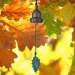 Zen Minded Acorn Vent De Cloche Par Woodstock Carillons - Laiton Coulé [Jardin & Extérieur] de la marque Zen Minded image 2 produit