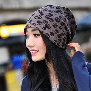 ZHANGYONG*Kit tricot chapeaux et Mme printemps et l'été des couples bonnet turban nuit-cap CHAPEAU TISSU , double-couche sont code (Flexible) , brown de la marque ZHANGYONG image 0 produit